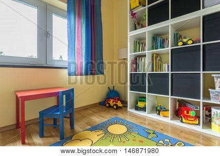 Child Room Full Of Colors