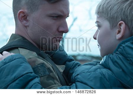 Fatherly Love In Conflict With A Sense Of Duty