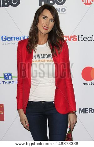 LOS ANGELES - SEP 9: Gemma Stafford at Hollywood Unites for the 5th Biennial Stand Up To Cancer at Walt Disney Concert Hall on September 9, 2016 in Los Angeles, California