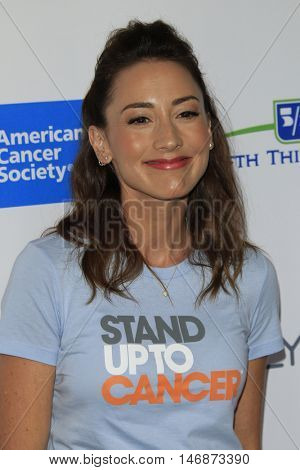 LOS ANGELES - SEP 9:  Bree Turner at the 5th Biennial Stand Up To Cancer at the Walt Disney Concert Hall on September 9, 2016 in Los Angeles, CA