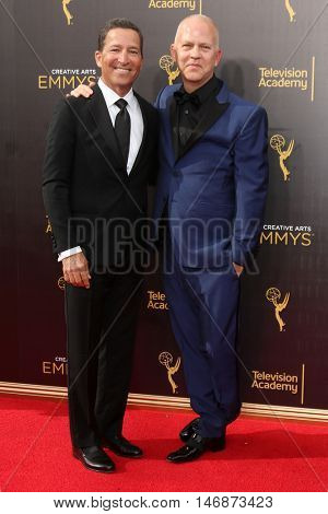 LOS ANGELES - SEP 11:  Bruce Rosenblum, Ryan Murphy at the 2016 Primetime Creative Emmy Awards - Day 2 - Arrivals at the Microsoft Theater on September 11, 2016 in Los Angeles, CA