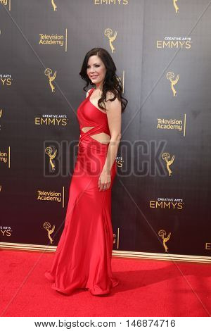 LOS ANGELES - SEP 11:  Christa Campbell at the 2016 Primetime Creative Emmy Awards - Day 2 - Arrivals at the Microsoft Theater on September 11, 2016 in Los Angeles, CA