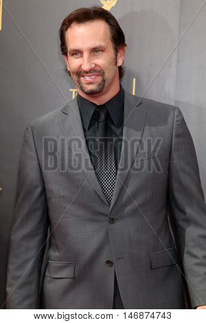 LOS ANGELES - SEP 11:  Kevin Sizemore at the 2016 Primetime Creative Emmy Awards - Day 2 - Arrivals at the Microsoft Theater on September 11, 2016 in Los Angeles, CA