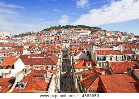 Portugal. Panorama Of Lisbon