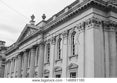 Old school building, Senate house, Cambridge, UK