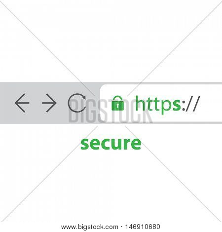 Browser Address Bar Showing Https Protocol - Secure Browsing and Connections Trend