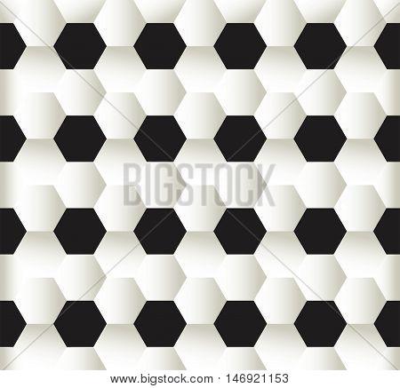 vector illustration of seamless pattern football soccer background