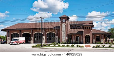 Red Brick Fire Station