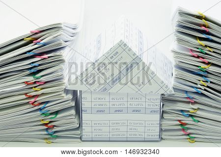 House Between Dual Pile Overload Document