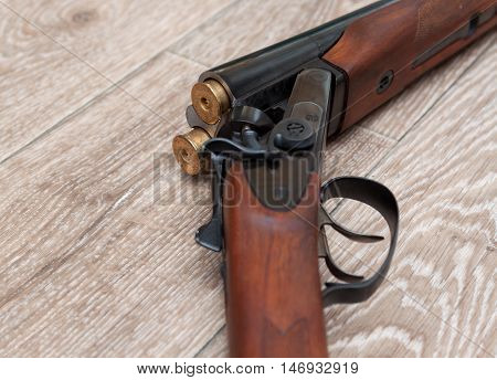 double barrel shotgun (for targets trap shooting and sporting clays)