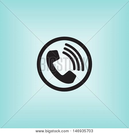 Call vector icon. Call isolated vector sign. Call vector logo.
