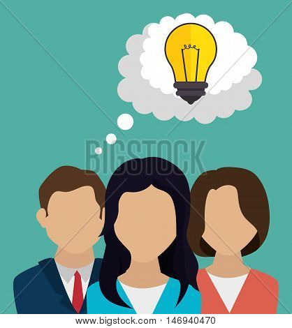 human resources recruit idea design isolated vector illustration eps 10