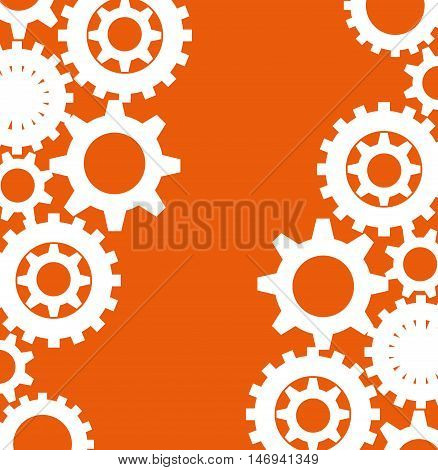 human resources recruit gear design isolated vector illustration eps 10