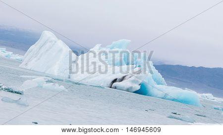 Jokulsarlon Is A Large Glacial Lake In Southeast Iceland