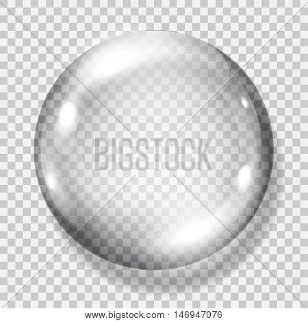 Transparent Gray Sphere