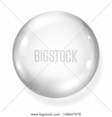 Opaque Gray Sphere