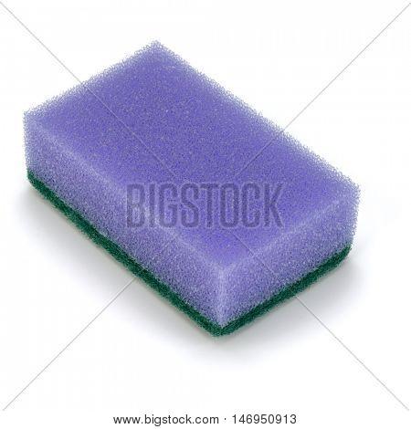 sponge isolated on white background cutout