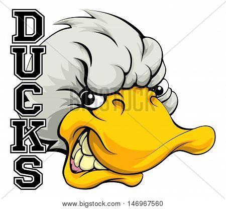 Ducks Mascot