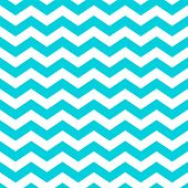 picture of chevron  - White and aqua zig zag chevron pattern - JPG