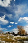 pic of swales  - A beautiful cloudy day in Ontario Canada - JPG