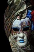 picture of carnivale  - A beautiful carnivale mask from venice Italy - JPG