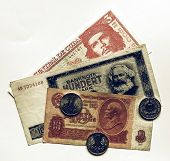 Vintage Money Picture poster