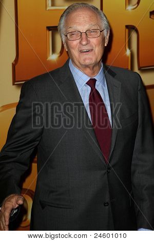 NEW YORK - OCTOBER 24: Alan Alda attends the premiere of