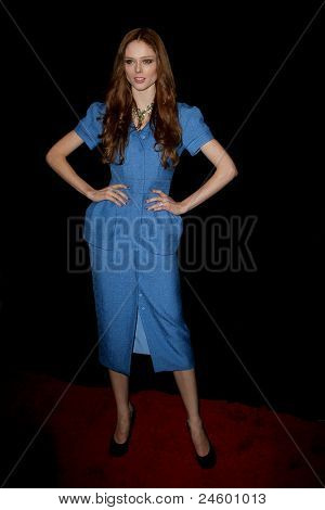 NEW YORK - OCTOBER 24: Coco Rocha attends the premiere of