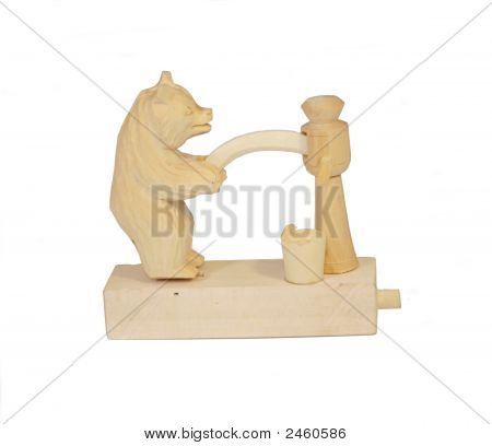 Traditonal Russian Wooden Toy
