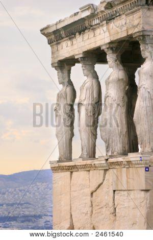 Athens, Greece - Kariatides