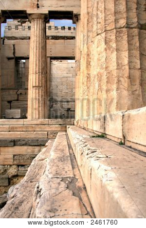 Athens, Greece - Acropolis Entrance, Propylaia