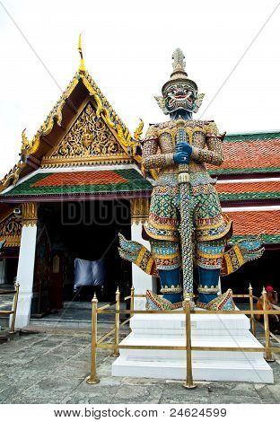 Thai Temple,wat Phra Kaew Temple,bangkok Thailand