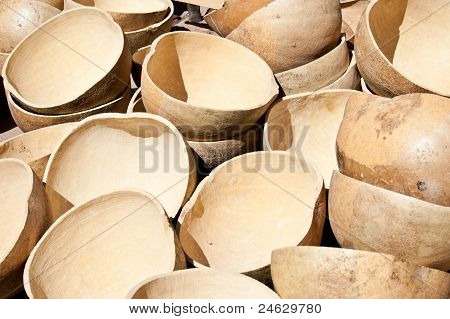 Malian Traditional Containers.