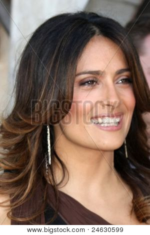 LOS ANGELES - OCT 23:  Salma Hayek arriving at the