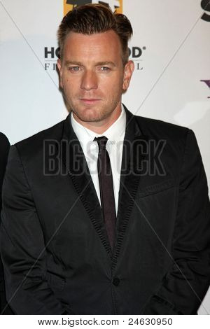 LOS ANGELES - OCT 24:  Ewan McGregor arriving at the 15th Annual Hollywood Film Awards Gala at Beverly Hilton Hotel on October 24, 2011 in Beverly Hllls, CA