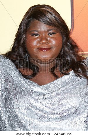 NEW YORK - OCTOBER 24: Gaborey Sidibe attends the premiere of