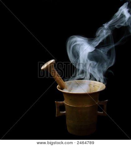 Smoking Mortar