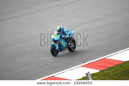 Álvaro Bautista, da Rizla Suzuki MotoGP Team