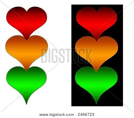 Heart Traffic Lights