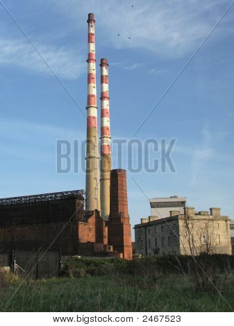 Old And New Power Station