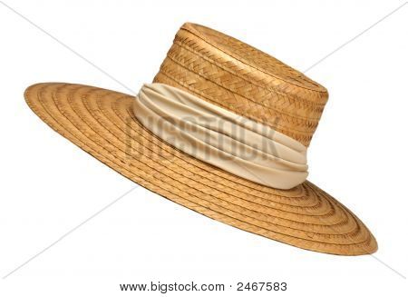 Mom'S Straw Hat