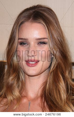 LOS ANGELES - OCT 26: Rosie Huntington-Whiteley arriving at the Burberry Body Launch at Burberry on October 26, 2011 in Beverly Hills, CA