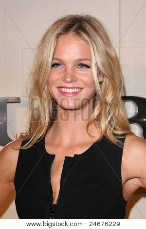 LOS ANGELES - OCT 26: Erin Heatherton arriving at the Burberry Body Launch at Burberry on October 26, 2011 in Beverly Hills, CA