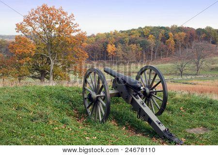 Gettysburg no Outono