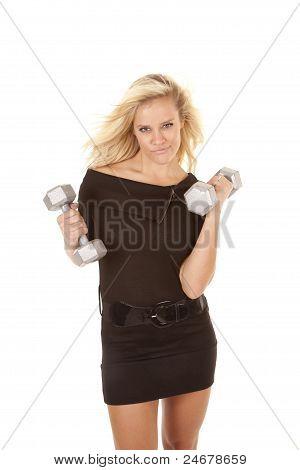 Black Dress Smirk Weights