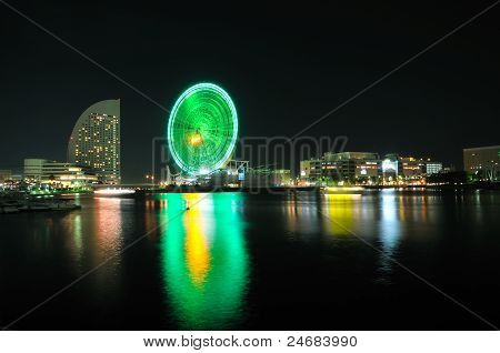 View of Tokyo Bay.
