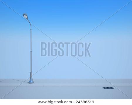 Lanterna de rua