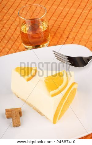 Orange Bavarian Cream (bavarese)