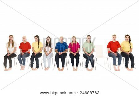 Women On Chairs