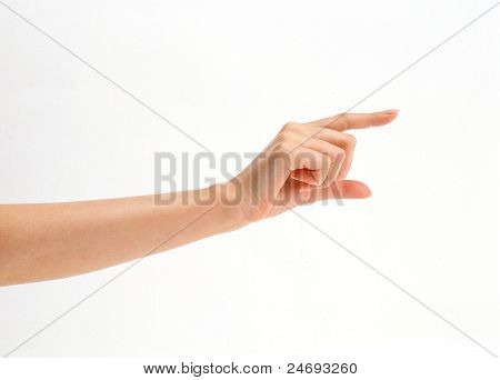 acting hand